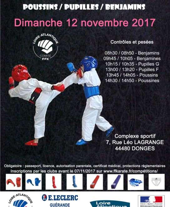 Coupe départementale Combats Poussins / Pupilles / Benjamins