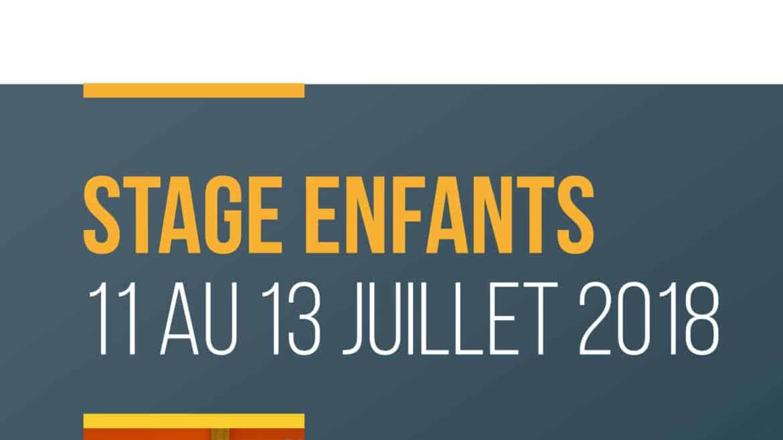 Stage Enfants 2018