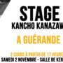 S'inscrire au stage de Kancho Kanazawa