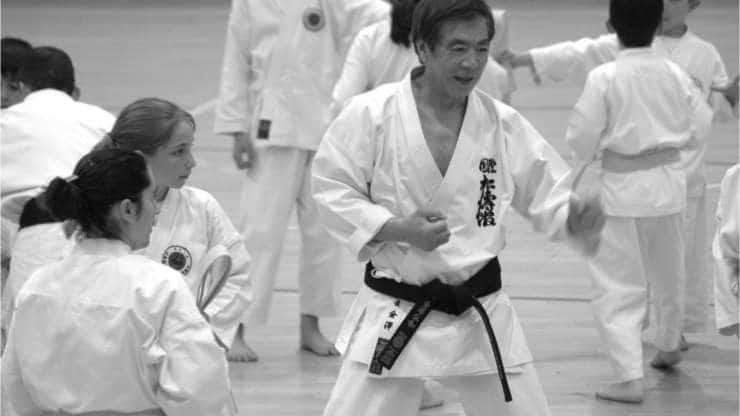Mort de Soke Kanazawa Hirokazu