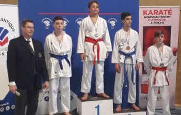 3 titres & 1 vice champion départemental