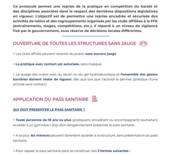 Pass Sanitaire – Obligatoire pour les + de 18 ans